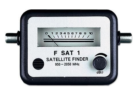 Sat Finder Стрелочный индикатор уровня спутникового ТВ сигнала Sat-Finder 950-2050 MHz - очень прост в обращении.